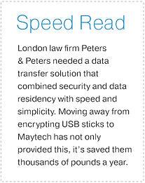 Peters & Peters Speed Read