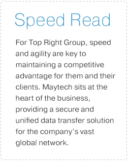 Top Right Group Speed Read