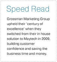 Grossman Marketing Speed Read