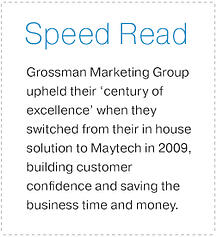 Grossman Marketing Speed Read