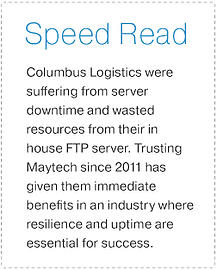 Columbus Logistics Speed Read